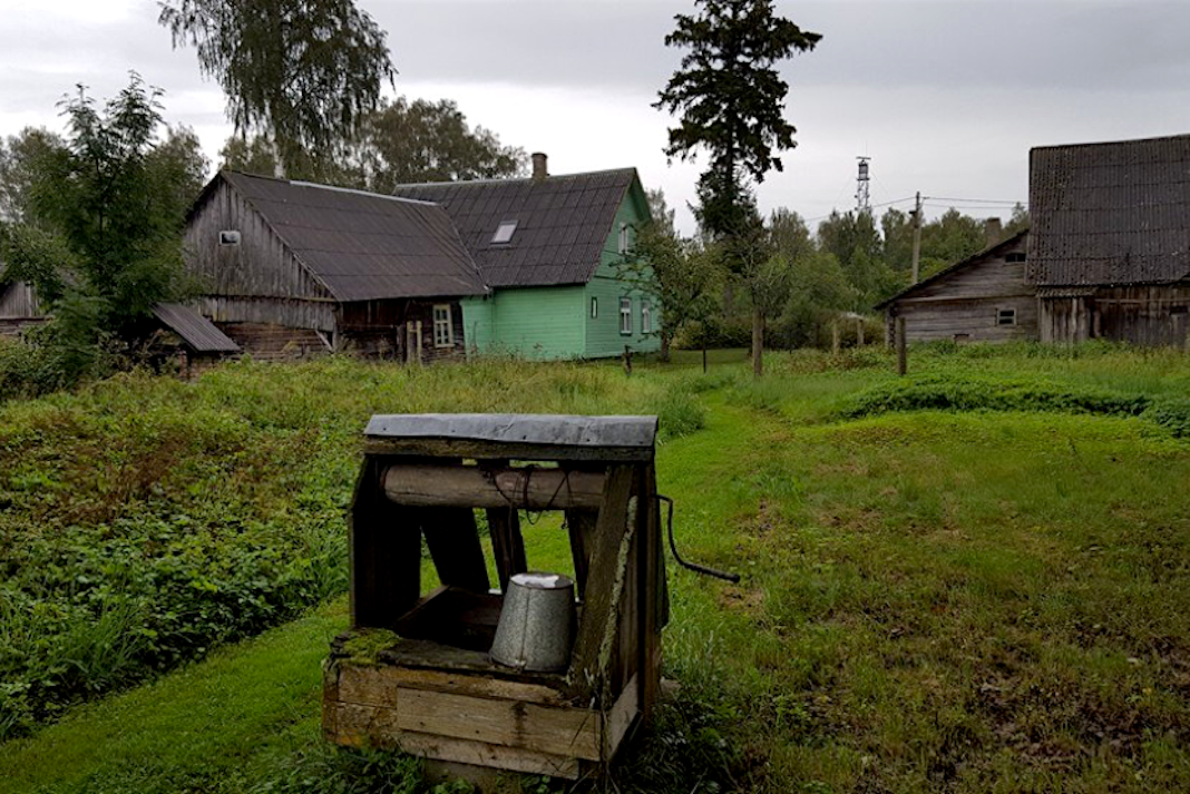 Piirissaarel aeg seisab. Foto: Bosse Ahlnäs