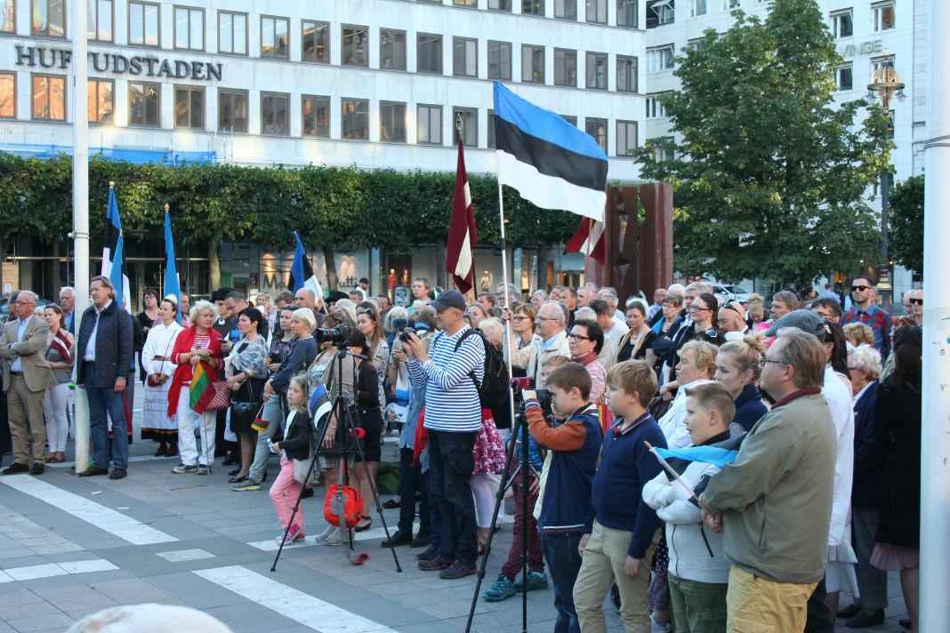 Norrmalmstorgil 27.08.2016 Foto: Allar Viljaste