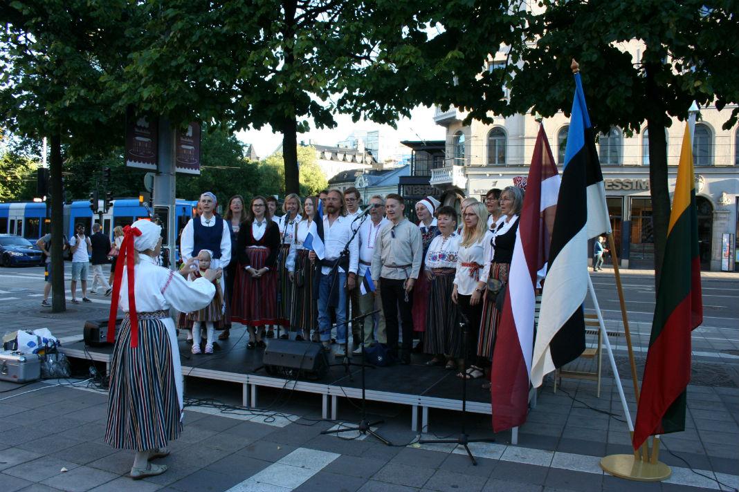 Stockholmi Eesti Segakoor Foto: Allar Viljaste