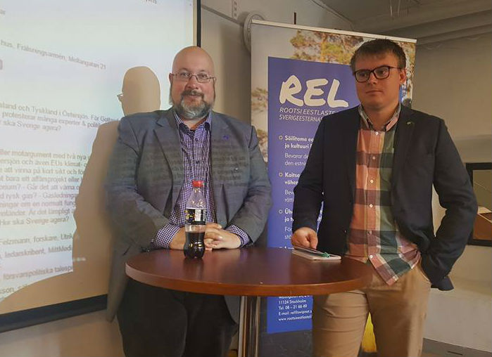 Patrik Oksanen ja Christoffer Karlsson Foto: Taave Sööt Vahermägi