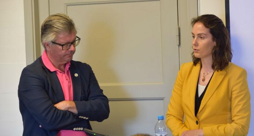 Hans Wallmark ja Anke Schmidt-Felzmann REL seminaril Almedalenil 05.07.2016 Foto: Taave Sööt Vahermägi