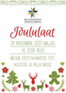 Jõululaat Stockholmis @ Estniska Huset i Stockholm | Stockholms län | Rootsi