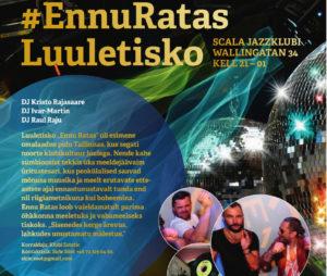 #EV100 EnnuRatas Lyrikdisco @ Scala Jazzclub | Stockholms län | Rootsi