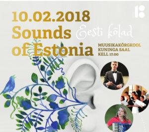 #EV100 #Estival2018 Avakontsert @ Kuninglik Muusikakõrgkool | Stockholms län | Rootsi
