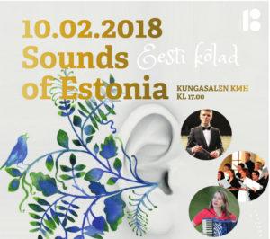 #EV100 Sounds of Estonia @ Kungliga Musikhögskolan | Stockholms län | Rootsi