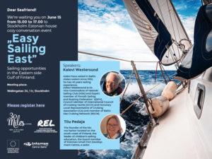 Easy Sailing East @ Stockholmi Eesti Maja | Stockholms län | Rootsi
