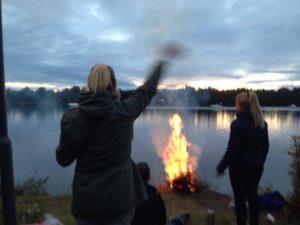 Muinastulede öö @ Umeå jõe ääres | Umeå | Västerbotteni lään | Rootsi