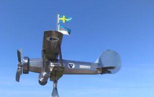 Mälestusmärk 1944 - Fokker @ Alva Hembygdsförening | Alva | Gotland County | Rootsi