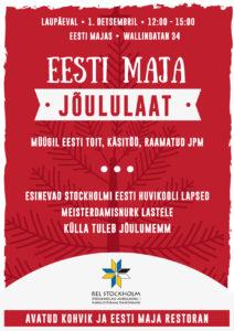 Jõululaat @ Stockholmi Eesti Maja | Stockholms län | Rootsi